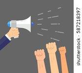 vector illustration style... | Shutterstock .eps vector #587218397