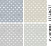 seamless patterns with abstract ...   Shutterstock .eps vector #587236757