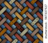 seamless background pattern.... | Shutterstock .eps vector #587337527