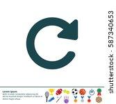 Update Icon. Refresh Symbol