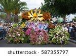 funchal  portugal   april 13 ... | Shutterstock . vector #587355797