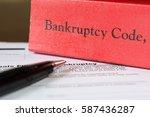 bankruptcy | Shutterstock . vector #587436287
