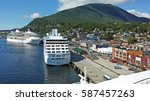 Cruise Ships In The Port Of...