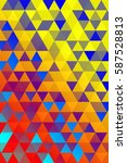 triangular background. cover... | Shutterstock .eps vector #587528813