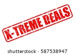 x treme deals red stamp text on ...   Shutterstock .eps vector #587538947