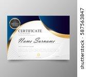 certificate premium template