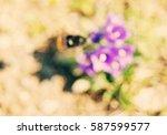 abstract de focused  blurred... | Shutterstock . vector #587599577