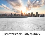 cityscape and skyline of... | Shutterstock . vector #587608097