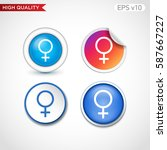 sex icon. button with sex icon. ...   Shutterstock .eps vector #587667227