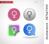 sex icon. button with sex icon. ...   Shutterstock .eps vector #587667443