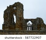 Whitby Abbey Ruin At Whitby On...