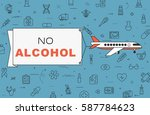 """airplane with banner """"no...   Shutterstock .eps vector #587784623"""