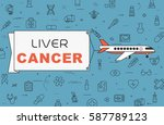 """airplane with banner """"liver...   Shutterstock .eps vector #587789123"""
