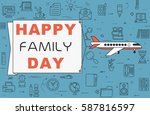 "airplane with banner ""happy... 