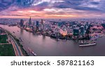 ho chi minh  vietnam   jan12 ... | Shutterstock . vector #587821163