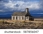 Abandoned Building In The...