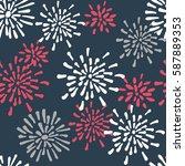 vector seamless pattern....   Shutterstock .eps vector #587889353