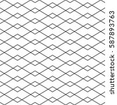 seamless linear geometric...   Shutterstock .eps vector #587893763