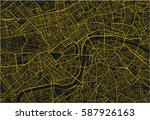 black and yellow vector city... | Shutterstock .eps vector #587926163