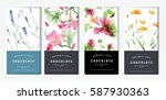 chocolate bar packaging mock up ... | Shutterstock .eps vector #587930363