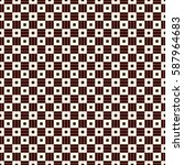 outline seamless pattern with...   Shutterstock .eps vector #587964683