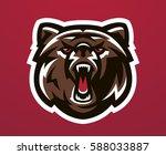 colorful logo  identity  mascot ...   Shutterstock .eps vector #588033887