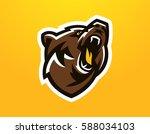 colorful logo  identity  mascot ...   Shutterstock .eps vector #588034103