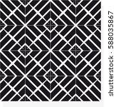 vector seamless pattern. modern ... | Shutterstock .eps vector #588035867