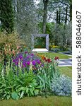 Colourful Modern Garden With...