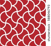 seamless geometric pattern with ... | Shutterstock .eps vector #588046793
