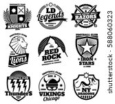 college athletic labels ... | Shutterstock .eps vector #588060323