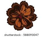 flower | Shutterstock .eps vector #588093047