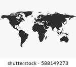 world map | Shutterstock .eps vector #588149273