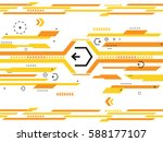 abstract background with lines  ... | Shutterstock . vector #588177107
