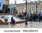 kyiv  ukraine   february 26 ... | Shutterstock . vector #588188693