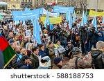 kyiv  ukraine   february 26 ... | Shutterstock . vector #588188753