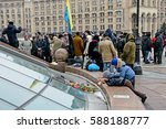 kyiv  ukraine   february 26 ... | Shutterstock . vector #588188777