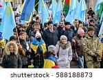 kyiv  ukraine   february 26 ... | Shutterstock . vector #588188873