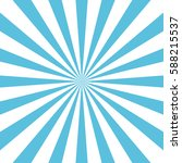 blue sun rays background | Shutterstock .eps vector #588215537