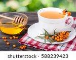 Tea Of Sea Buckthorn Berries...