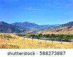 Yellowstone River Runs Through...