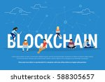 Blockchain Concept Illustratio...