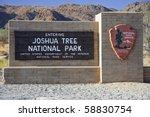 Entrance To Joshua Tree...