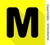 letter m sign design template... | Shutterstock .eps vector #588314993