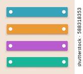 four labels set   Shutterstock .eps vector #588318353