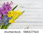 Spring Flowers   Hyacinth And...