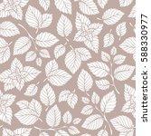Mint Leaf Pattern. Peppermint...