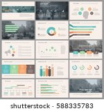 colored elements for... | Shutterstock .eps vector #588335783