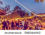vintage tone blur image of... | Shutterstock . vector #588366443