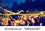 vintage tone blur image of... | Shutterstock . vector #588366587